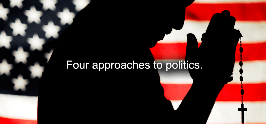 Four approaches to politics.